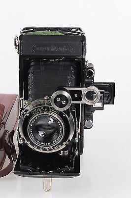 ZEISS IKON 530/2 SUPER IKONTA FOLDING CAMERA  with 4.5 / 105mm COMPUR TESSAR