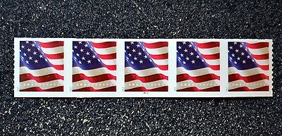 2017USA #5159 Forever U.S. Flag US PNC Plate Number (#P1111) Coil Strip 5 (APU)