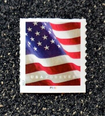 2017USA #5159 Forever U.S. Flag US - PNC Plate Number Coil Single  Mint  (APU)
