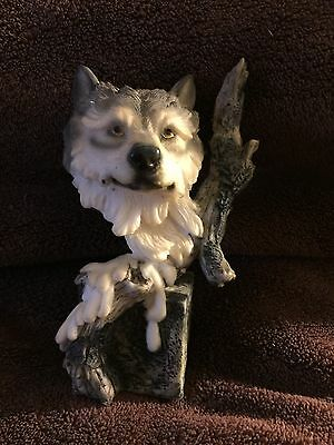 Resin  Wolf Head  Small