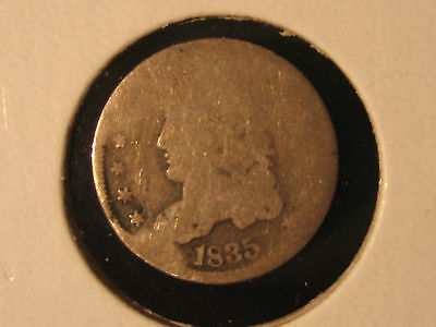 1835 Capped Bust Half Dime  5C - Free Shipping!