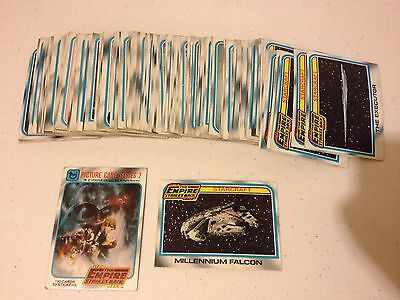 1980 Topps Star Wars Empire Strikes Back Series 2 Complete Set Nm/m Esb Orig Own