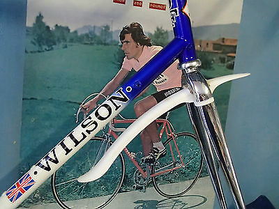 CICLOLINEA FRONT CLIP AND VELCRO ON FRONT RACER MUDGUARD 370mm LONG V RARE RETRO