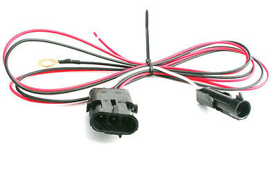TPI TBI 3 Wire Heated Oxygen O2 Sensor Wiring Harness Adapter GM 1 to 3 wire