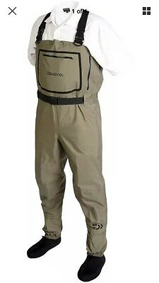 Daiwa Breathable Stocking Foot Chest Waders (LESS THAN HALF PRICE)