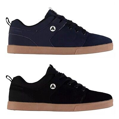 Airwalk Mens Carrington  Skate Shoes Trainers Sneakers  Casual Black New Lace UP