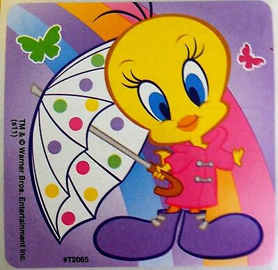 Tweety Bird Stickers! Looney Tunes, Warner Bros, Stocking Stuffers, Cute, Kawaii