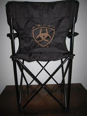 New Ariat Boots Advertising Folding Chair - Promo From Pbr