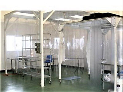 A portable clean room, Filtration room, Bio lab industry, Microchip making