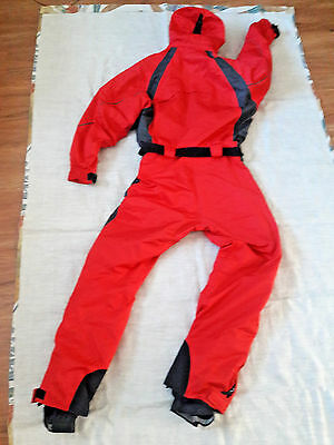 Obermeyer One Piece Snowsuit womens size 8 removable hood ski suit