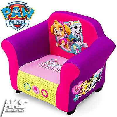 PAW Patrol Skye & Everest Upholstered Chair Furniture Toddler Kids Children New