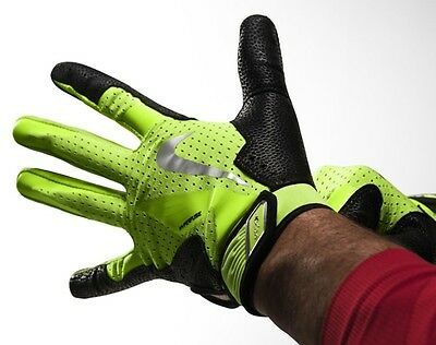 NEW Nike Vapor Elite Pro Batting Gloves GB0372-710 Volt/Black Xlarge XL