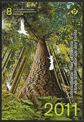 Canada — Booklet Pane of 8 — International Year of Forests #2463a (BK452) — MNH