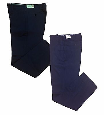 NEW! Industrial Work Uniform Pants (100% Cotton) Dark Blue / Navy Blue Men's