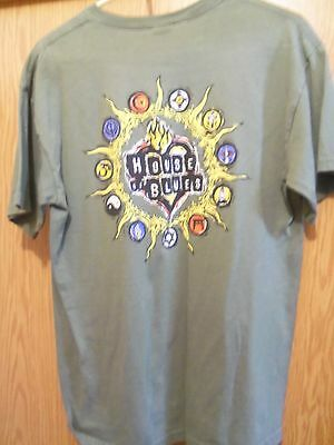 HOUSE OF BLUES graphic NEW ORLEANS medium t shirt