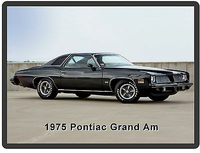 1975  Pontiac Grand Am Auto Car  Refrigerator / Tool Box  Magnet