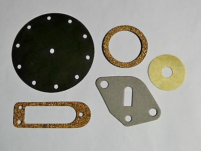 AC Model D fuel pump gasket set with diaphragm and screen 1935-36 Pierce Arrow 8