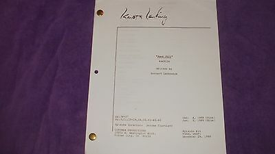 Knots Landing Tv Script - Poor Jill - Donna Mills - Michele Lee - Joan Van Ark