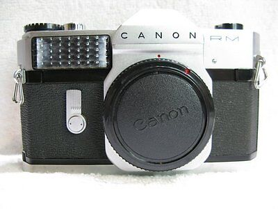 Vintage  Canon Canonflex RM 35mm SLR Film Camera,
