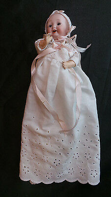 Vintage Japanese Bisque & Composition Doll Numbered