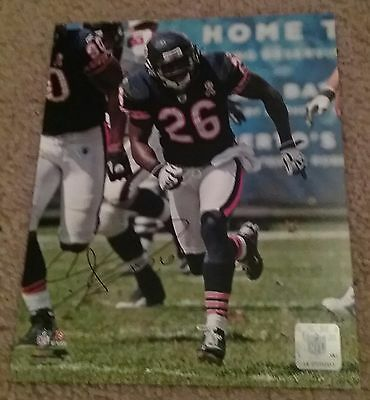 NFL BEARS HOF TIM JENNINGS AUTOGRAPHED SIGNED 8x10 FOOTBALL PHOTO COA JSA PSA
