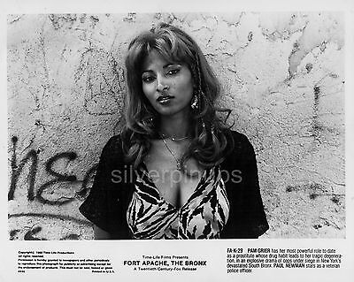 "Orig 1980 PAM GRIER Ghetto Glamour.. ""FORT APACHE, THE BRONX"" Portrait!"