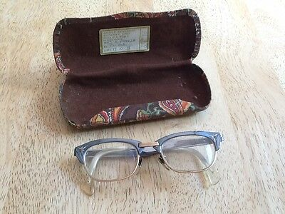 Authentic 1950s glasses by Alran Optik - W Germany