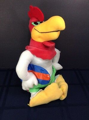 "FOGHORN LEGHORN 12"" Plush Boogy Board Trunks Glasses Looney Tunes Nanco 2003"