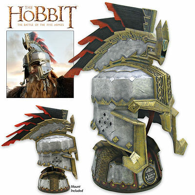 The Hobbit Helm of Dain Ironfoot United Cutlery - IN STOCK