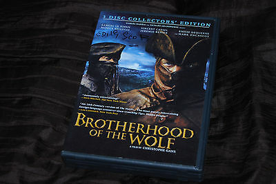 Edith Scob Signed - Rare - Brotherhood of the Wolf TVA Films DVD Christophe Gans