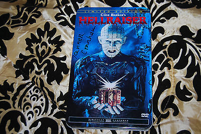 Kenneth Cranham Signed Hellraiser II Limited Edition Tin - OOP R1 Anchor Bay