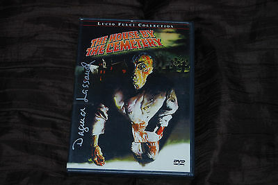 Dagmar Lassander Dual Signed - Rare - The House by the Cemetery DVD Lucio Fulci
