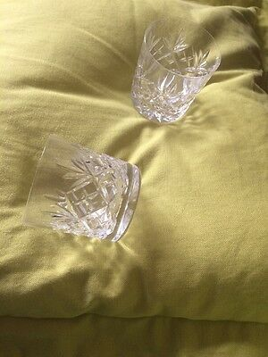 Two Whisky Tumblers Very Good Condition