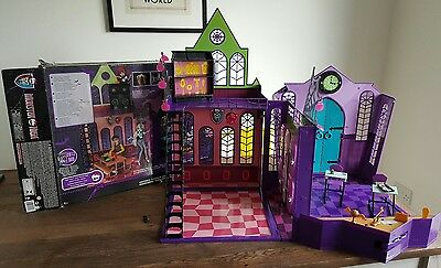 Monster High Doll School House Playset - BOXED