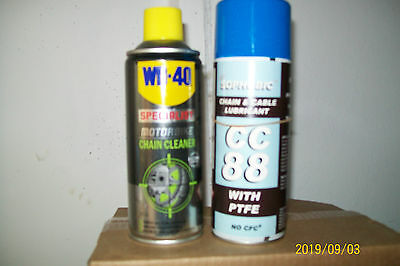 Motorcyce Chain Lube+Cleaner