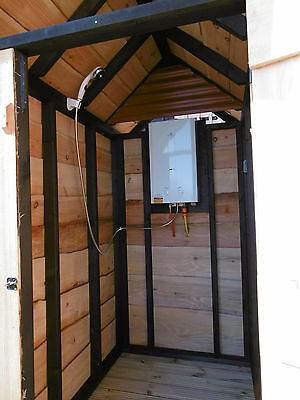 Outdoor Shower Hut / Cubicle / Campsite / Glamping / Shepherds Huts Etc