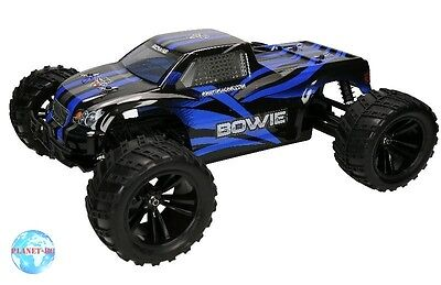 Himoto 1/10 Bowie Monster Truck RTR 4WD Blau