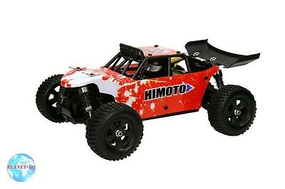 Himoto 1/18 4WD Barren Buggy Brushless - RTR Red