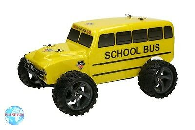 Himoto 1/18 4WD School Bus Brushed - RTR