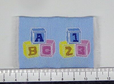 1:12 Small Woven Blue Blocks Rug Doll House Miniature Accessorry