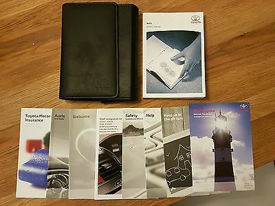 Toyota Auris Owners Handbook/Manual and Wallet 06-11