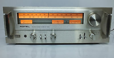Rotel Rt-1025 Top End Vintage Radio Tuner