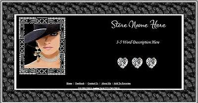 Diamonds With Class Store Front Header Package