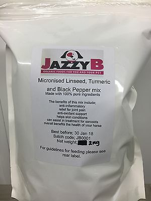 4kg Micronised Linseed, Turmeric And Black Pepper MixFor £12 Plus £5.60 Delivery