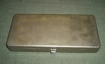 Vintage Stainless Steel Surgical Instruments Case By Down Brothers London