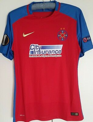 Steaua Bucuresti Match Worn Shirt Europa League Pintilii