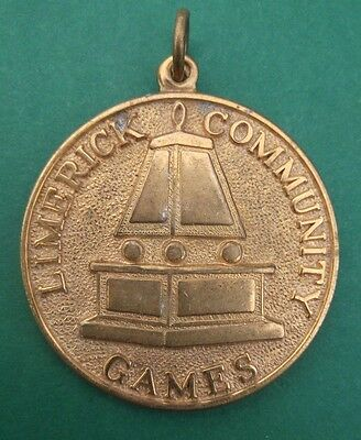 Limerick Community Games 1981 Medal