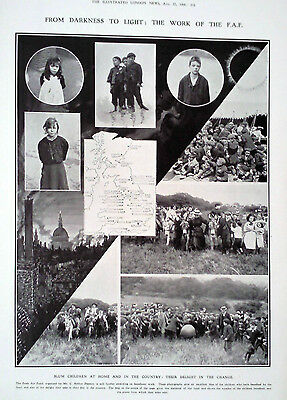 1908 Print Work Of The Fresh Air Fund-Famous Shelter On The Jungfrau