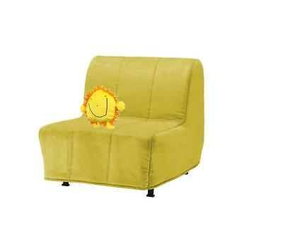 Ikea Lycksele Chair-bed Cover - 'Sunny' Henan Yellow 101.574.15