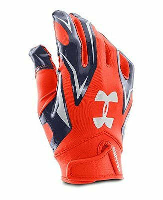 red white and blue football gloves
